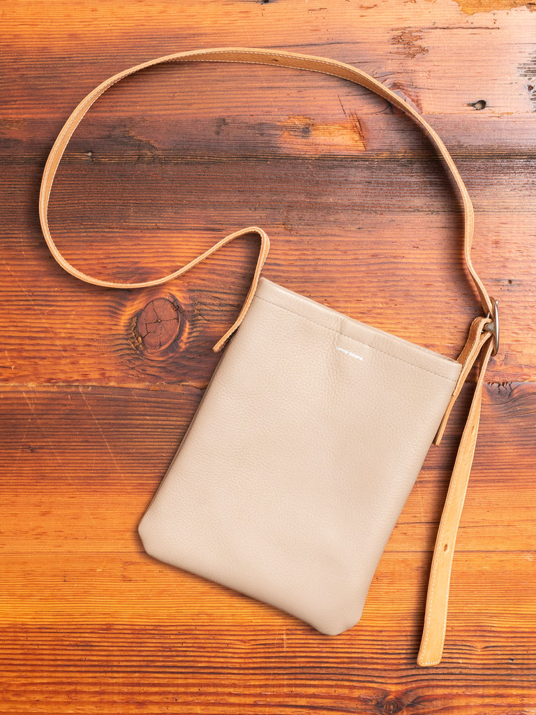 One Side Belt Bag Small in Beige