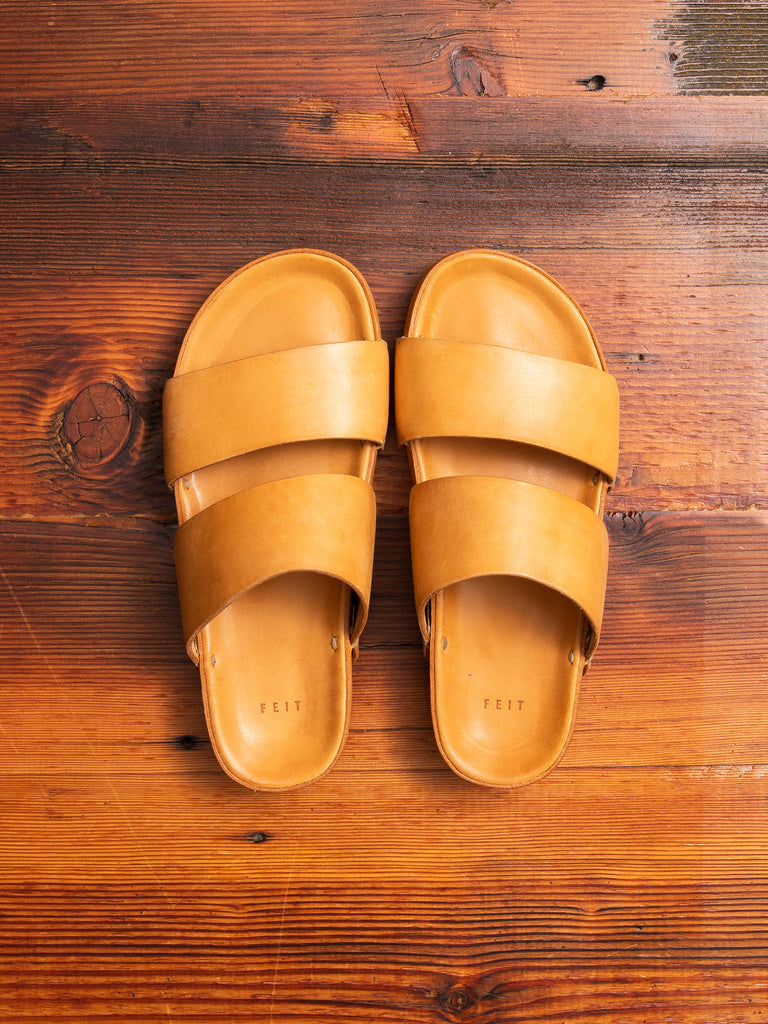 Hand Molded Sandal in Natural