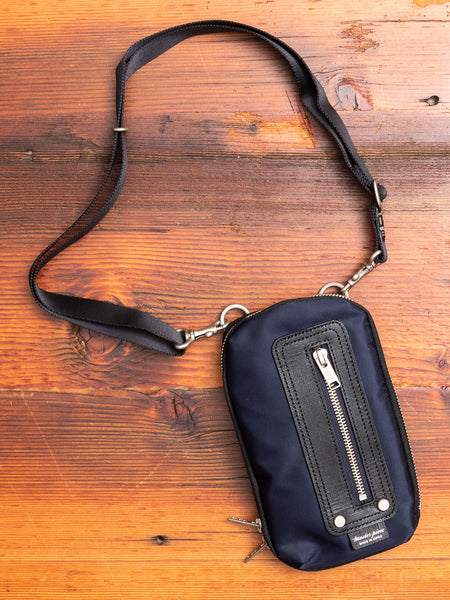 Slim Pouch in Navy