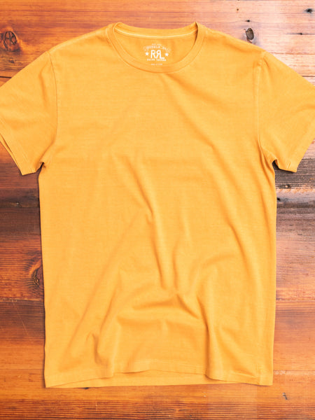 Garment-Dyed T-Shirt in Hearth Orange