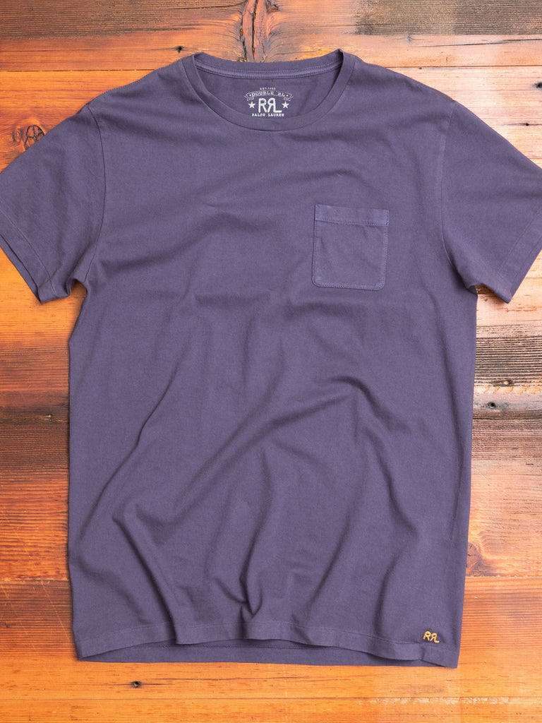Garment-Dyed Pocket T-Shirt in Trading Post Navy