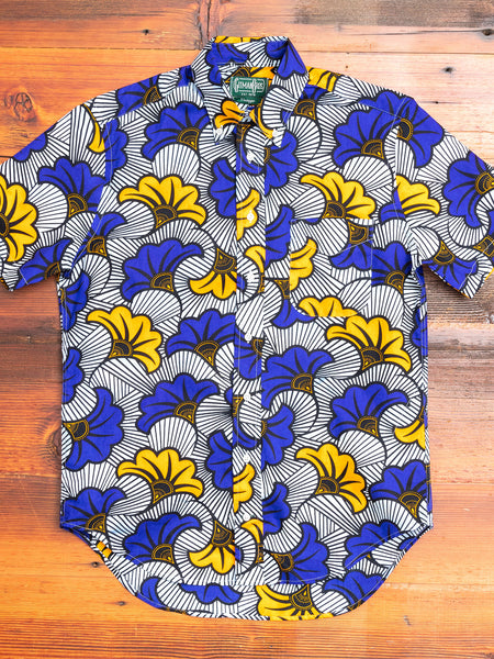 Africa Floral in Blue