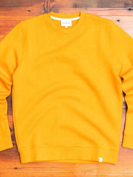 Vagn Crewneck Sweater in Cadmium Orange