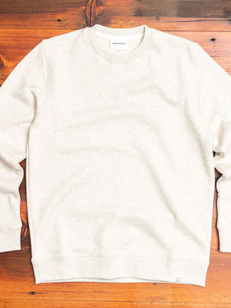 Vagn Crewneck Sweater in Oatmeal Melange