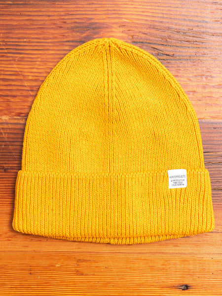 Norse Watch Beanie in Cadmium Orange