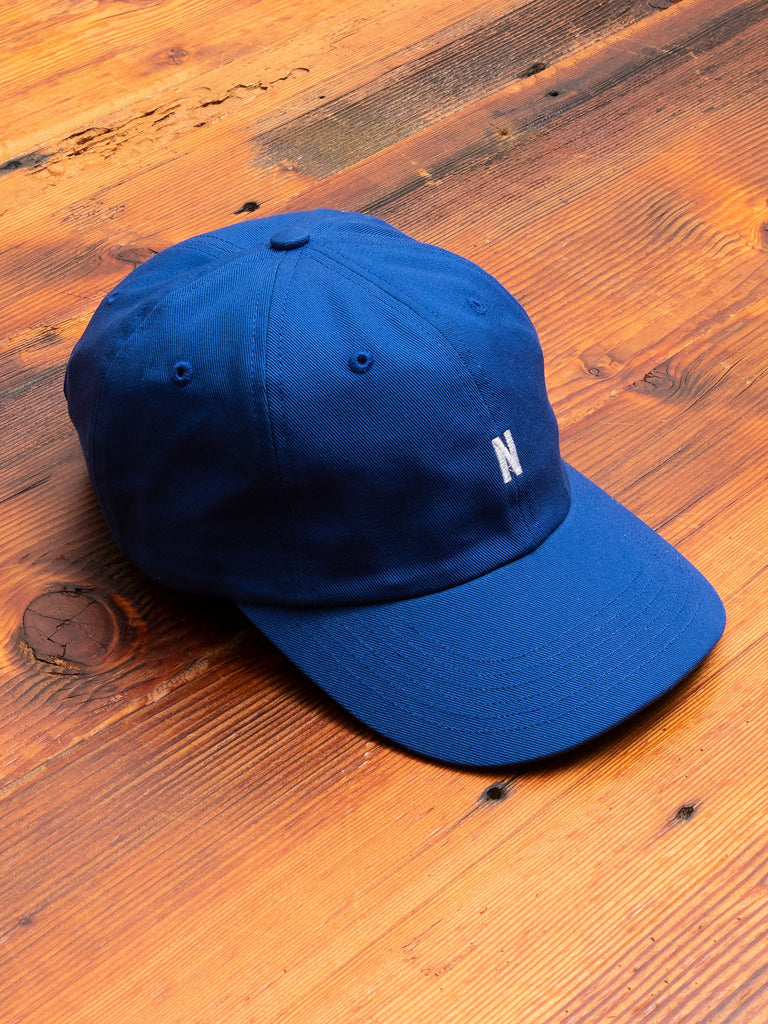 Twill Sports Cap in Twilight Blue