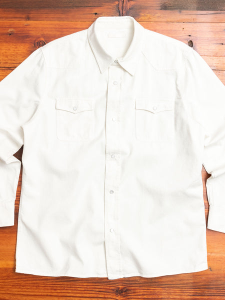 New Frontier Shirt in Marshmallow