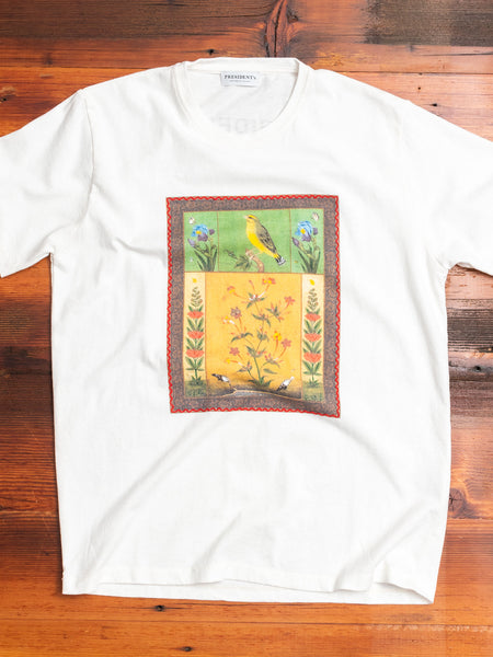 """Mughal Stories"" T-Shirt in White"