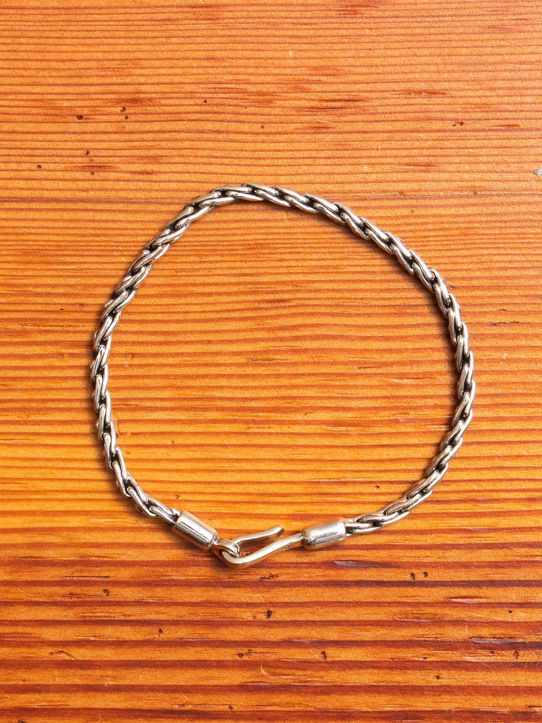 Rope Chain Bracelet in Silver