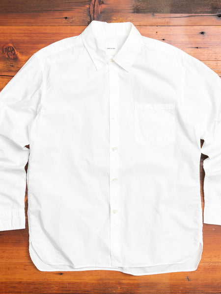 Basic Shirt in Off White
