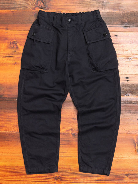Military Pants in Black