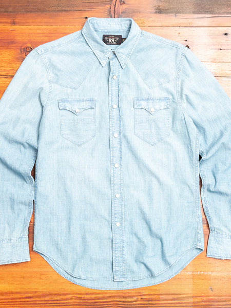 Buffalo Western Shirt in Davey Wash