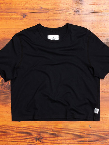 Women's Box Fit T-Shirt in Black