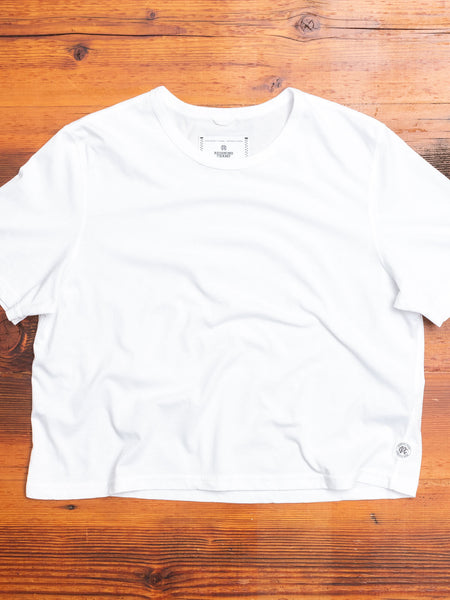 Women's Box Fit T-Shirt in White