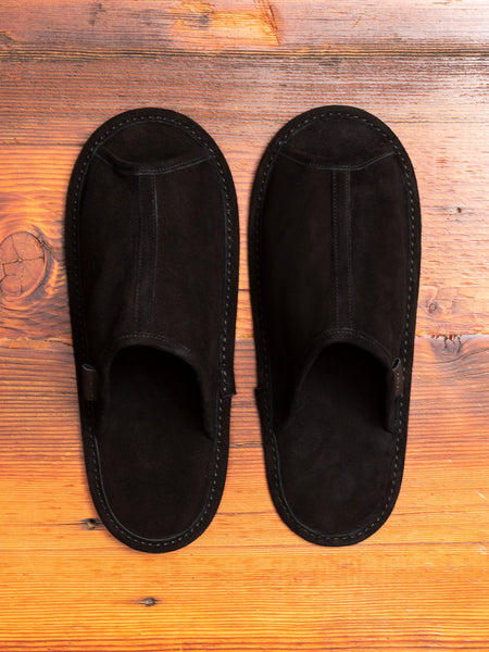 Trip Slipper in Black