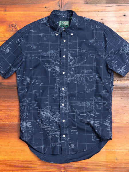 All Mapped Out in Navy