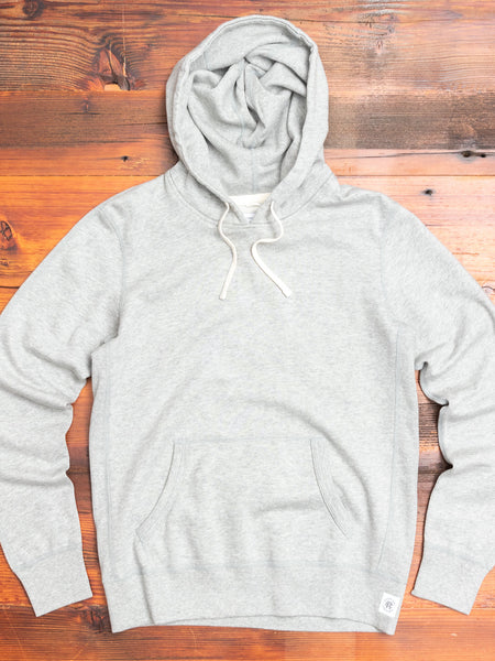 Women's Pullover Hoodie in Heather Grey