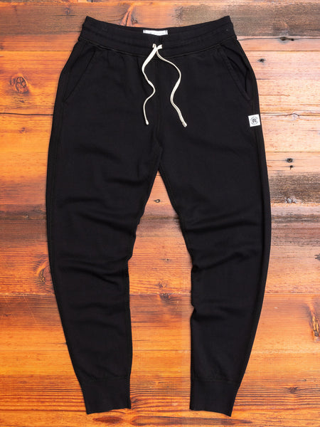 Women's Slim Sweatpant in Black