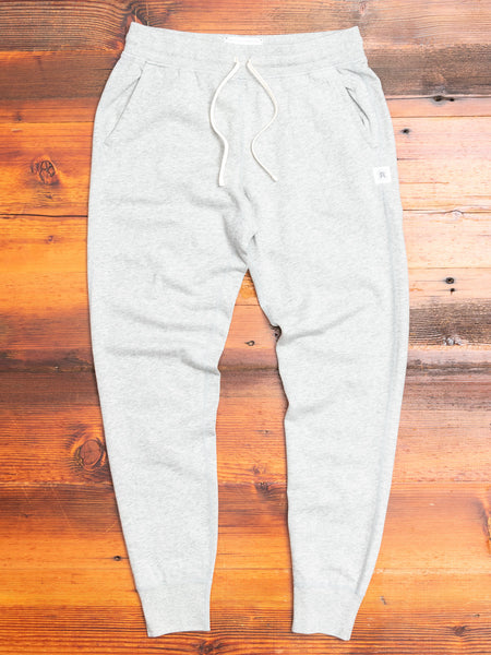 Women's Slim Sweatpant in Heather Grey