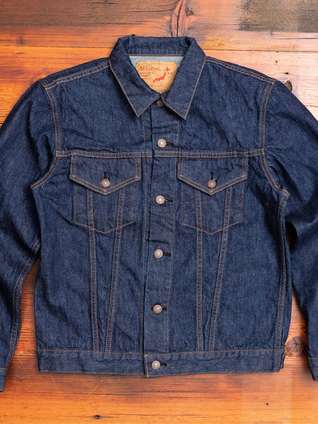 60's Denim Jacket in One Wash