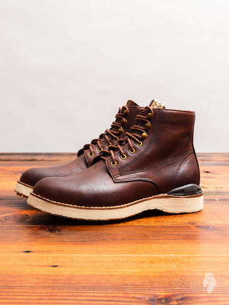 Virgil Boots-Folk in Burgundy