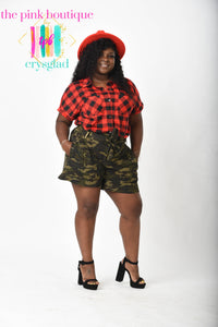 Buff-Ah-Real-Her (Buffalo) Plaid Shirt - Curves Edt.