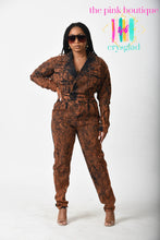Load image into Gallery viewer, Cop-Her (Copper) Denim Jumpsuit