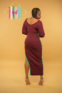 Cuffable Maxi Sweater Dress