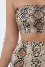 Load image into Gallery viewer, Serpent Snake Print Bandeau