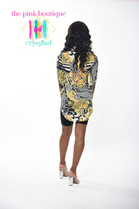 Rich Bihhh Vibez Convertible Shirt/Dress