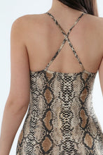 Load image into Gallery viewer, Ssssasha Snake Print Jumpsuit