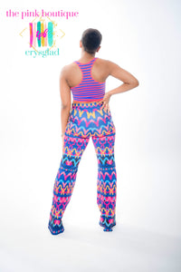 Work of Art Flare Pants