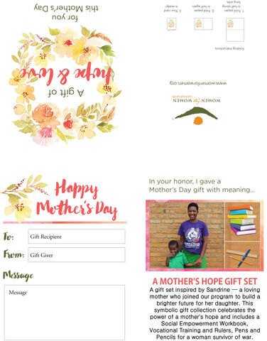 A Mother's Hope Gift Set