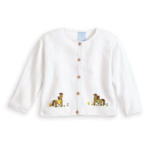 Girl's Pony Cardigan