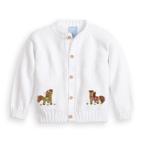 Boy's Pony Cardigan