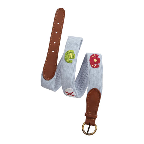 Jockey Silk Crochet Belt