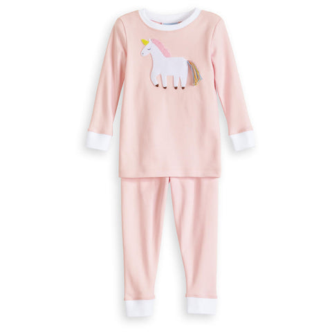 Applique Unicorn Pima Jammies