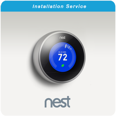 Nest Thermostat Install