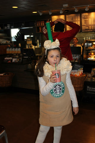 DIY Starbucks Halloween costume