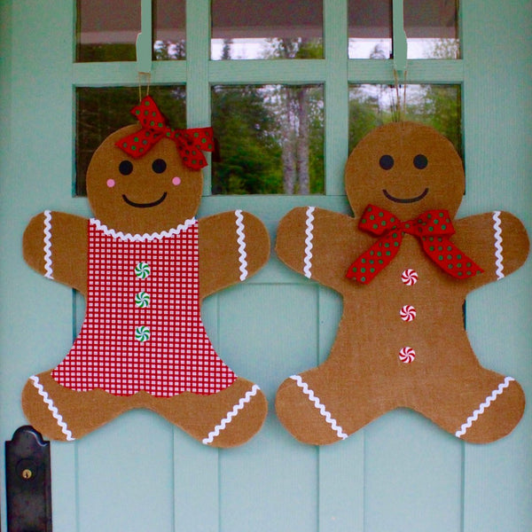 Christmas Wreath - Gingerbread Man Wreath