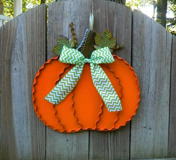 Pumpkin Wreath - Fall Decor