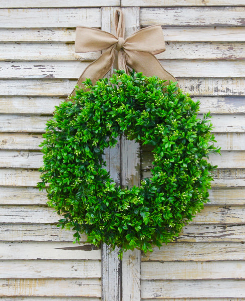 Boxwood Wreath  - All Season Wreath