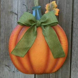 Pumpkin Wreath Alternative