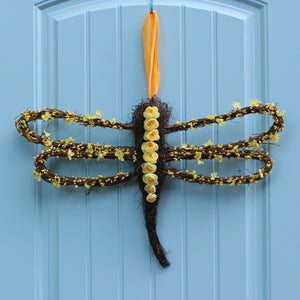 Dragonfly Wreath