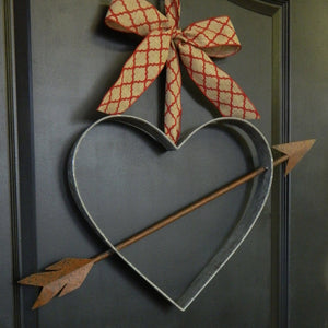 Farmhouse Heart Wreath Alternative