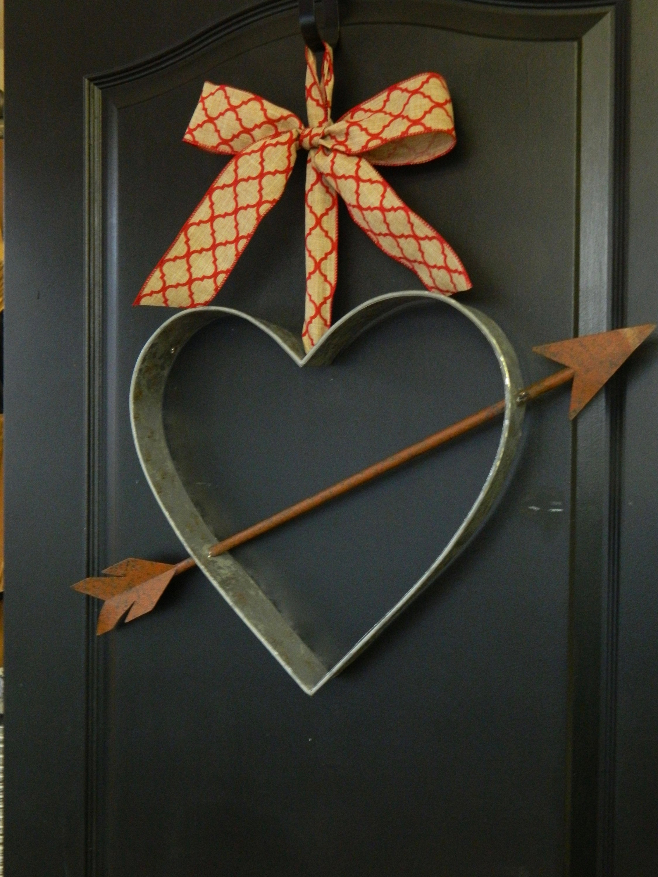 Farmhouse Wreath - Valentine Wreath