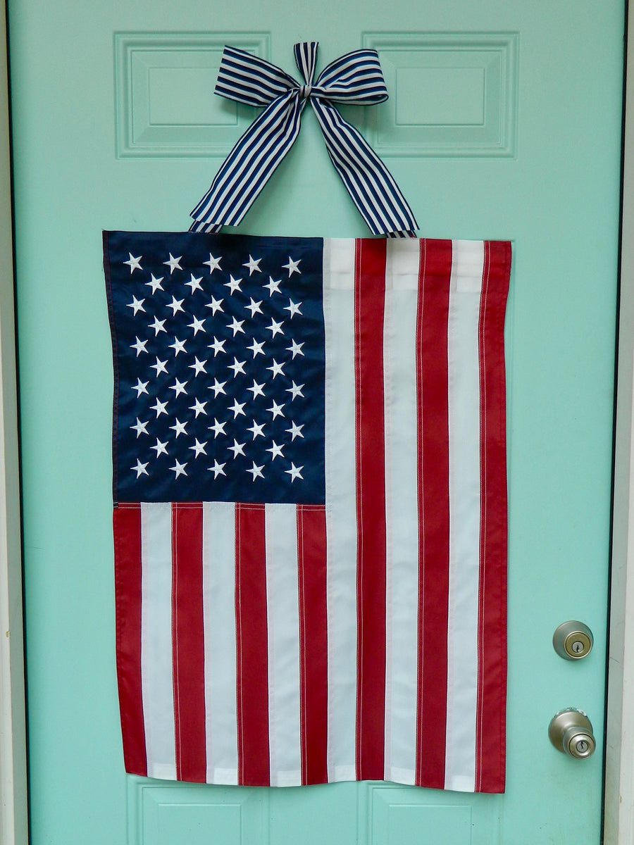American Flag Wreath Alternative