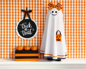 Halloween Decor - Halloween Ghost Decor - Standing Halloween Ghost