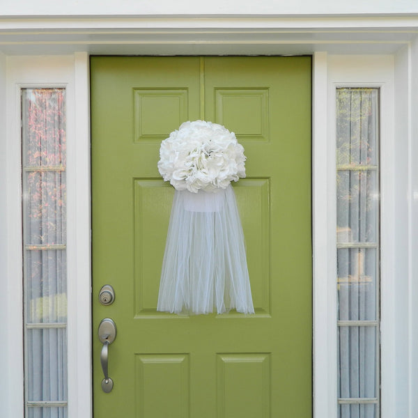 Wedding Wreath - Bridal Veil Wreath