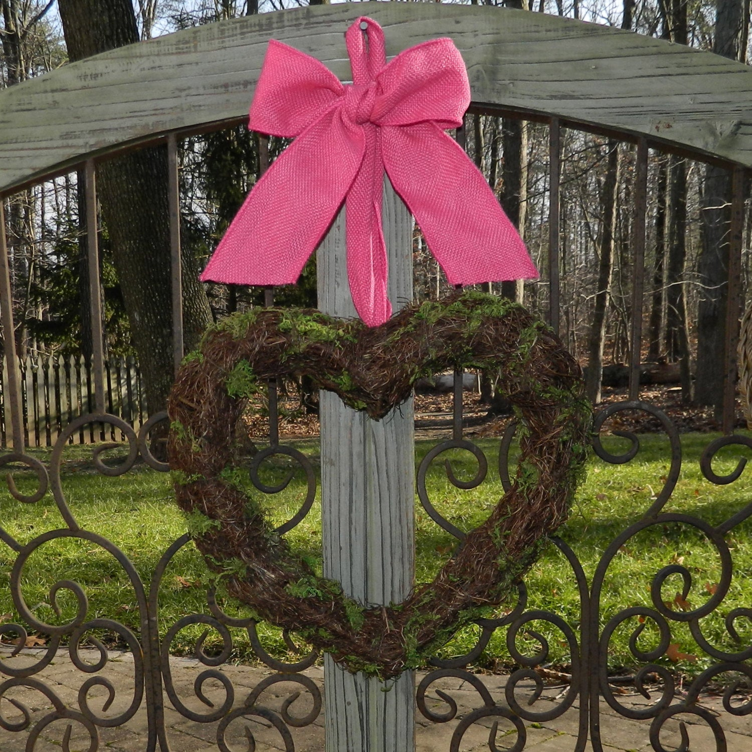 Heart Wreath - Valentine Decoration